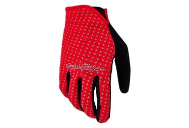 troy lee designs 2016 gants sprint rouge