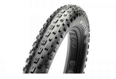 maxxis pneu fat bike minion fbf 26 dual 120tpi tringles souples tubetype