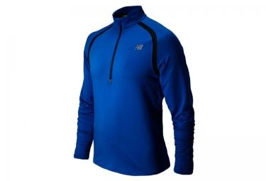 new balance maillot homme impact bleu