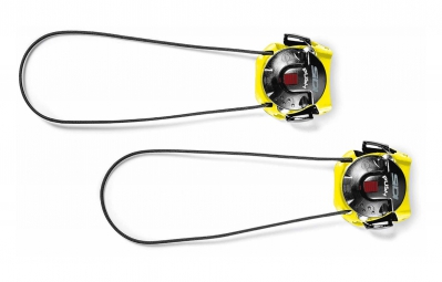 sidi boucle tecno 3 push court jaune noir