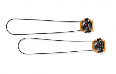 sidi boucle tecno 3 push long orange noir