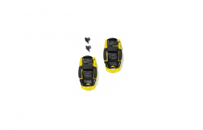 sidi boucle microlock jaune noir