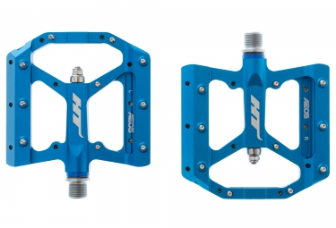 ht pedales plates ae05 bleu