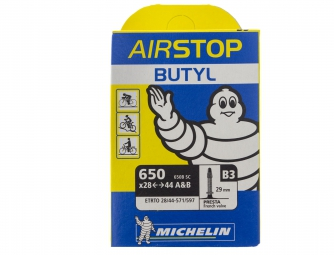 michelin chambre a air airstop b3 650 x 28 44 presta 29mm