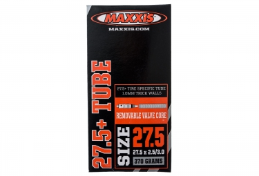 maxxis chambre a air fat bike 27 5 x 2 50 3 00 valve presta
