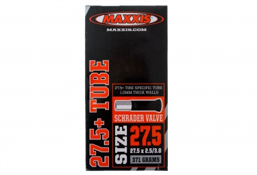 maxxis chambre a air fat bike 27 5 x 2 50 3 00 valve schrader
