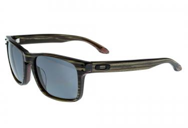 oakley lunettes holbrook lx vert gris polarisees
