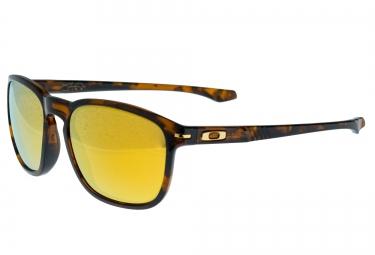 oakley lunettes enduro shaun white marron jaune iridium polarise