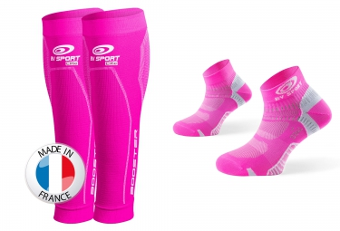 bv sport pack booster elite socquettes pointure 37 41 rose
