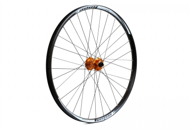 hope roue avant tech enduro pro 4 boost 27 5 15x110mm orange