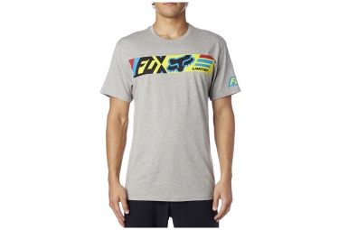 fox t shirt transport gris