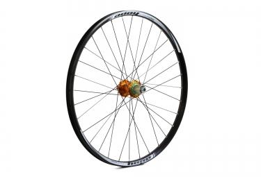hope roue arriere tech enduro pro 4 27 5 12x142 mm orange
