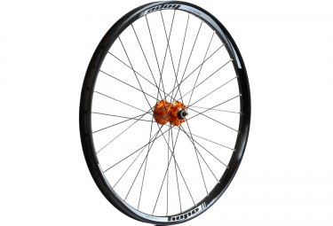 hope roue avant dh pro 4 26 20mm orange