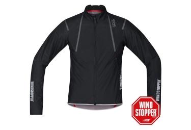 gore bike wear veste oxygen windstopper active shell light noir