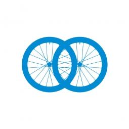 montage paire de roues neuves