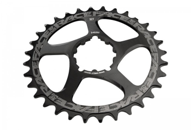 plateau direct mount race face sram deport 6mm noir