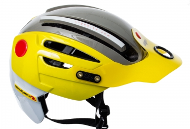 casque urge endur o matic 2 2016 jaune gris
