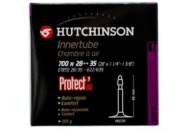 hutchinson chambre a air protect air 700 x 28 a 35 mm presta 48mm