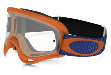 oakley masque o frame xs orange clear ref oo7030 06