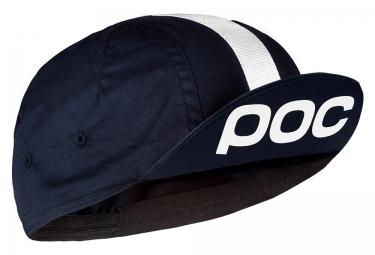 poc casquette raceday noir blanc