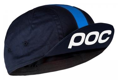 poc casquette raceday noir bleu