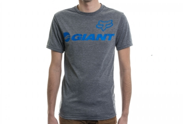 fox tee shirt giant tech tee gris