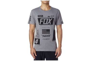 fox t shirt union premium gris