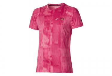 asics maillot t shirt fuzex printed schneider marathon de paris