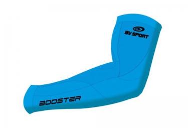 bv sport manchette de compression booster bleu