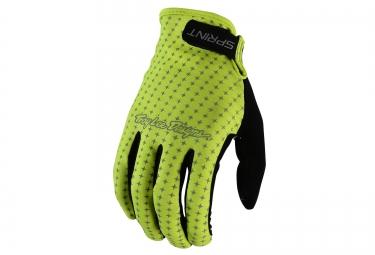 troy lee designs 2016 gants enfant sprint jaune