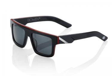 100 lunettes bowen noir rouge gris