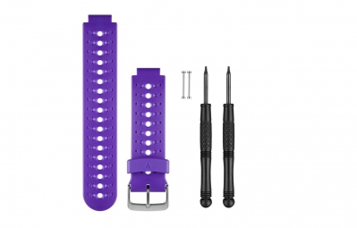 garmin bracelet forerunner 230 235 630 violet