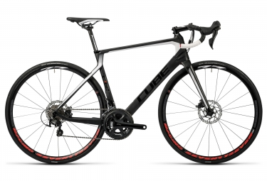 cube 2016 velo route agree c 62 disc carbone shimano 105 11v noir blanc