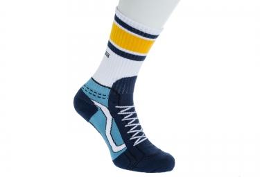 vans paire de chaussettes sk8 hi bleu blanc taille 38 5 42