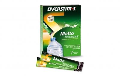 overstims boite 20 sticks boisson malto antioxydant assortiment d aromes