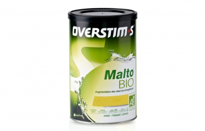 overstims boisson energetique malto bio citron 450g