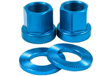 tsc ecrous de roues bmx bleu