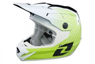 one industries casque integral atom phantom vert noir blanc