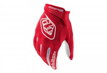 troy lee designs paire de gants longs gp air rouge