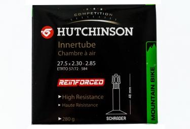 hutchinson chambre a air renforcee 27 5 x 2 30 a 2 85mm schrader 48mm