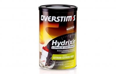 overstims boisson energetique hydrixir longue distance cocktail d agrumes 600g