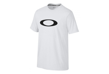 oakley tee shirt o one icon coupe droite blanc