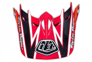 troy lee designs visiere d2 proven rouge