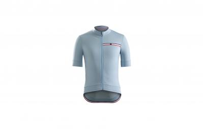 maillot bontrager classique bleu