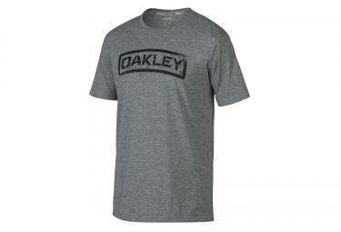 oakley tee shirt tab coupe droite gris