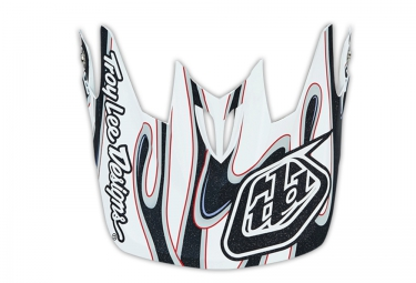 troy lee designs visiere d3 squirt blanc