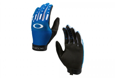 oakley gants factory bleu