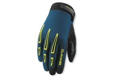 dakine 2016 paire de gants traverse bleu