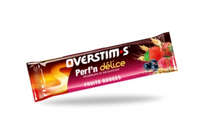 overstims barre energetique perf n delice fruits rouges