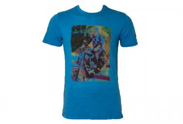 troy lee designs t shirt premium 141 bleu